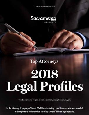 Sacramento Presents Top Attorneys, 2018 Legal Profiles
